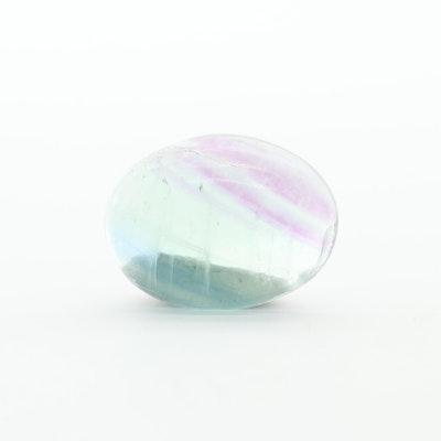 Loose 14.22 CT Fluorite Gemstone