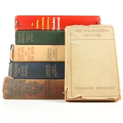 """""""The Wilderness Hunter"""" and Other Books Featuring Theodore Roosevelt"""