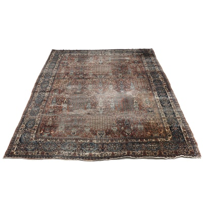 Hand-Knotted Persian Mehriban Wool Room Size Rug