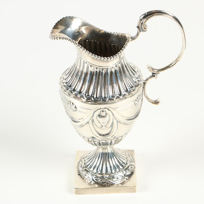 Ann Chesterman of London Sterling Silver Creamer, 1778