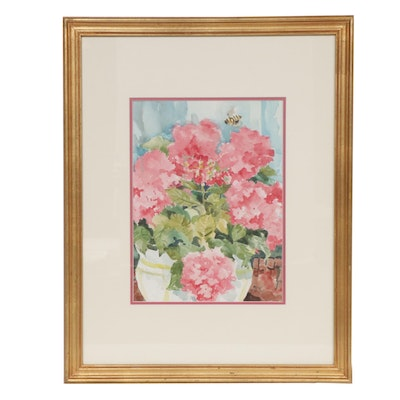Micki Samson Floral Watercolor Painting