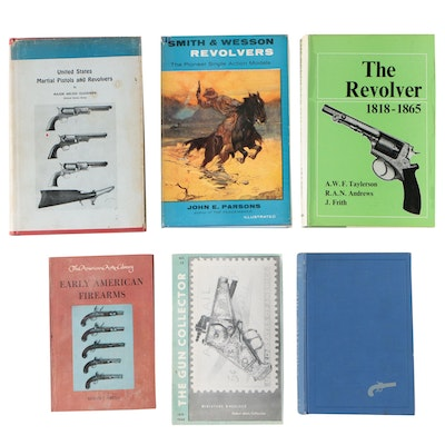 "Firearms Books including ""Martial Pistols and Revolvers"" by Arcadi Gluckman"