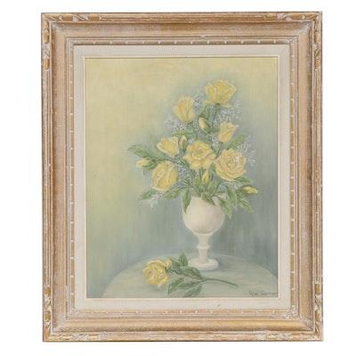 Opal Garner Floral Still Life Oil Painting