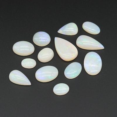 Loose 41.61 CTW Opal Gemstones