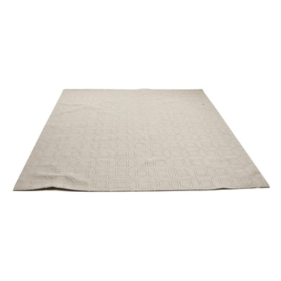 "Machine Made Surya ""Luck"" Wool Blend Loop Pile Area Rug"