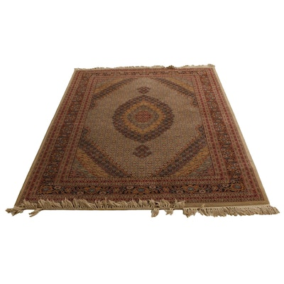 Machine Made Miresco Empire Collection Tabriz Style Accent Rug