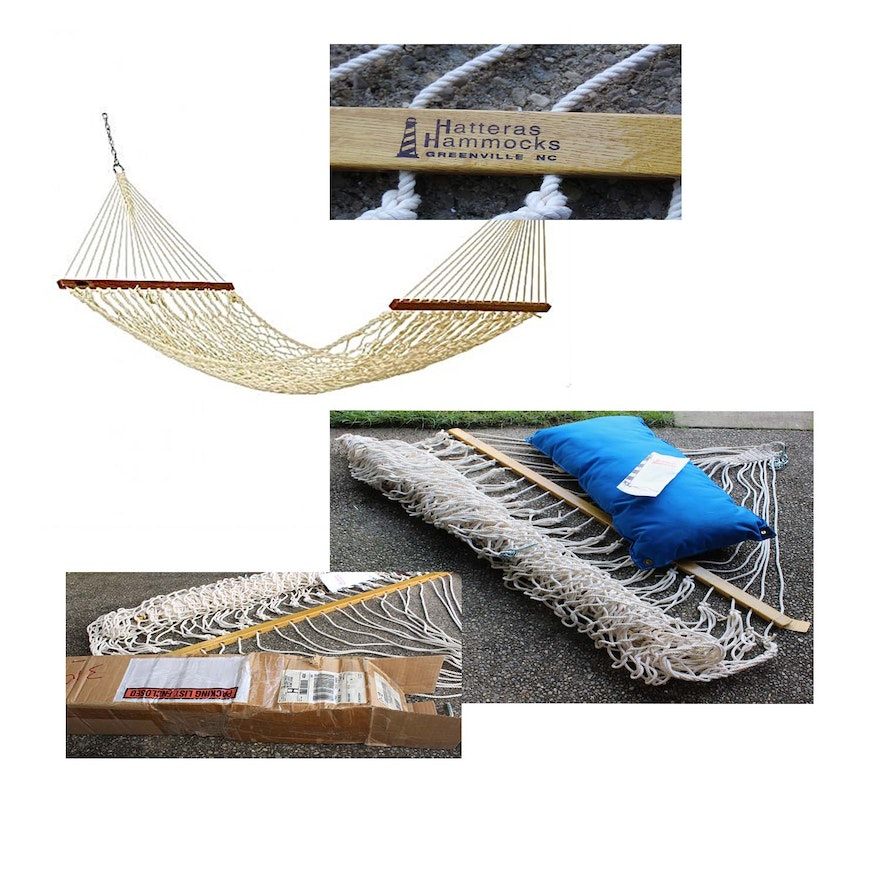 Hatteras Cotton Rope Hammock