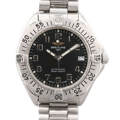 Breitling Colt Stainless Steel Automatic Wristwatch With Date