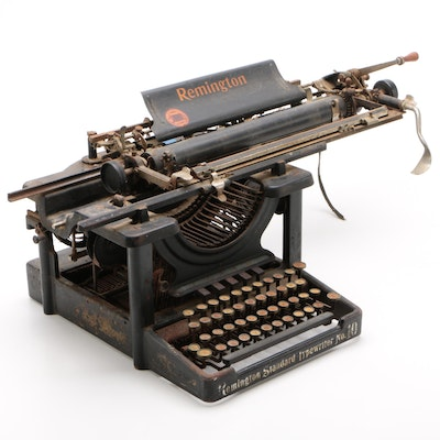 Remington Standard Typewriter No. 10, Circa 1910s