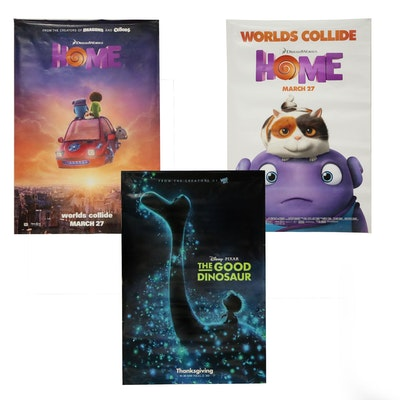 """""""The Good Dinosaur"""" and Other Double Sided Movie Posters"""