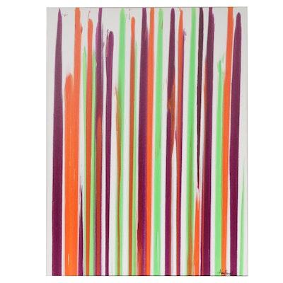Amy Renée Moberger Abstract Acrylic Painting
