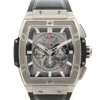Hublot Spirit of Big Bang Titanium Automatic Chronograph Wristwatch
