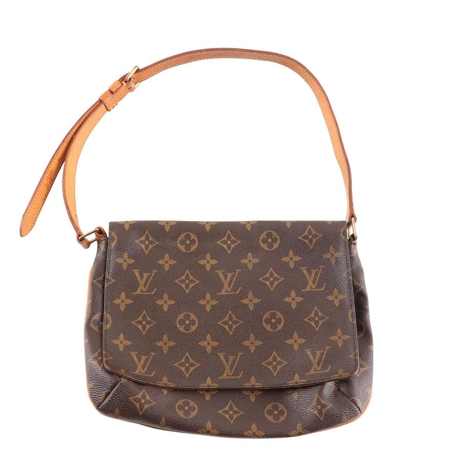 Louis Vuitton Flap Front Shoulder Bag