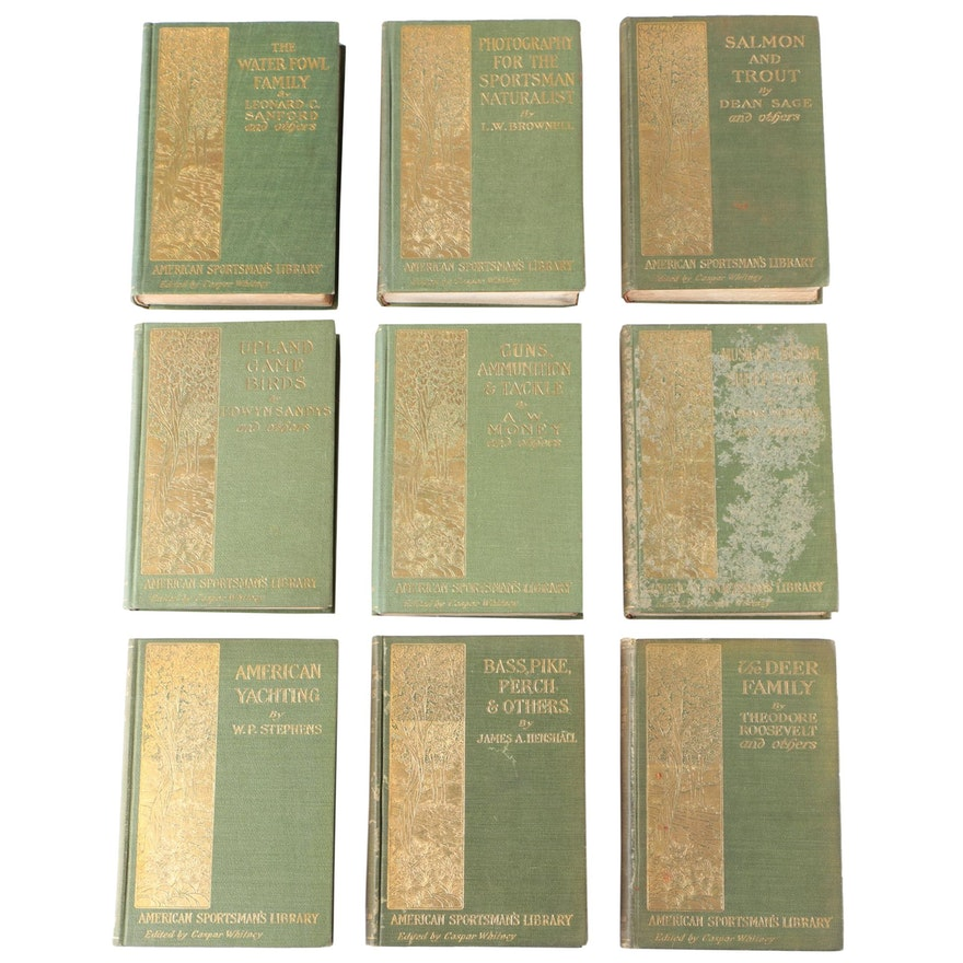 American Sportsman's Library Book Series Edited by Caspar Whitney, 1902–1904