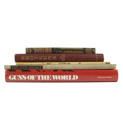 "Firearms Books including ""Guns of the World"" Edited by Hans Tanner, 1977"