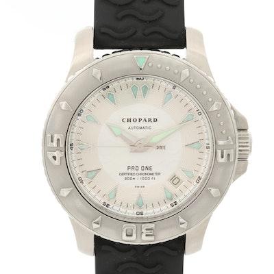Chopard L.U.C. Pro One Stainless Steel Automatic Wristwatch