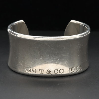 """Tiffany & Co. """"1837 Collection"""" Sterling Silver Cuff"""
