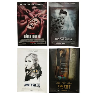 """""""The Green Inferno"""" and Other Double Sided Movie Poster"""