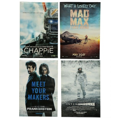 """""""Interstellar"""" and Other Double Sided Movie Posters"""