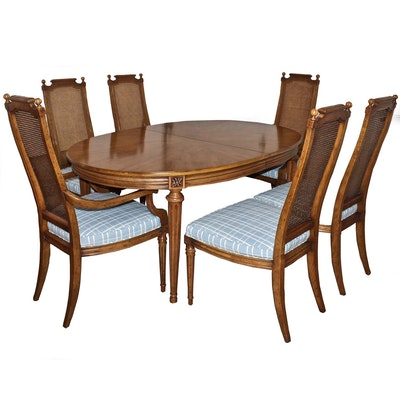 Henredon Leaf Dining Table and Chairs