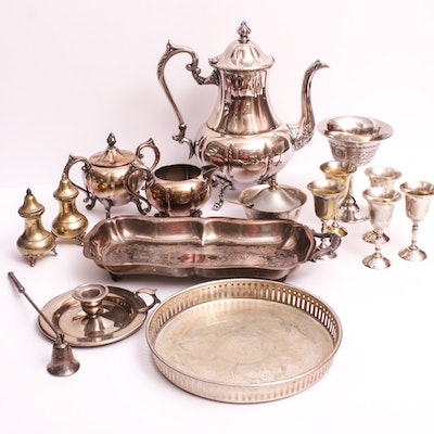 Sheridan Silver on Copper and Silverplate Tableware