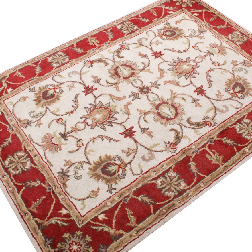 Hand-Tufted Indian Wool Rug