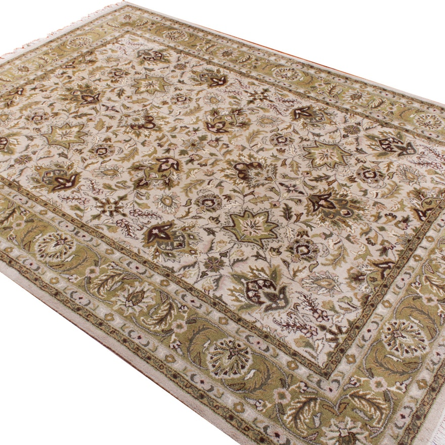 Hand Tufted Indo Persian Wool Area Rug
