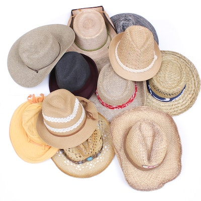 Women's Hats Featuring Ann Taylor, Panama Jack, Nike and Nine West