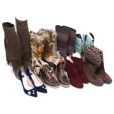 Women's Shoes Including Coach, White House Black Market, Sorel, Nine West
