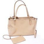 Coach Madison Christie Saffiano Leather Carryall and Wristlet