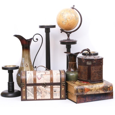 Contemporary Candle Holders, Decorative Containers and Vessels