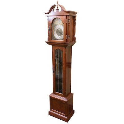 Emperor Clock Co. Harrington House Grandfather Clock, Mid to Late 20th Century