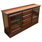 Contemporary Pottery Barn Hardwood Buffet