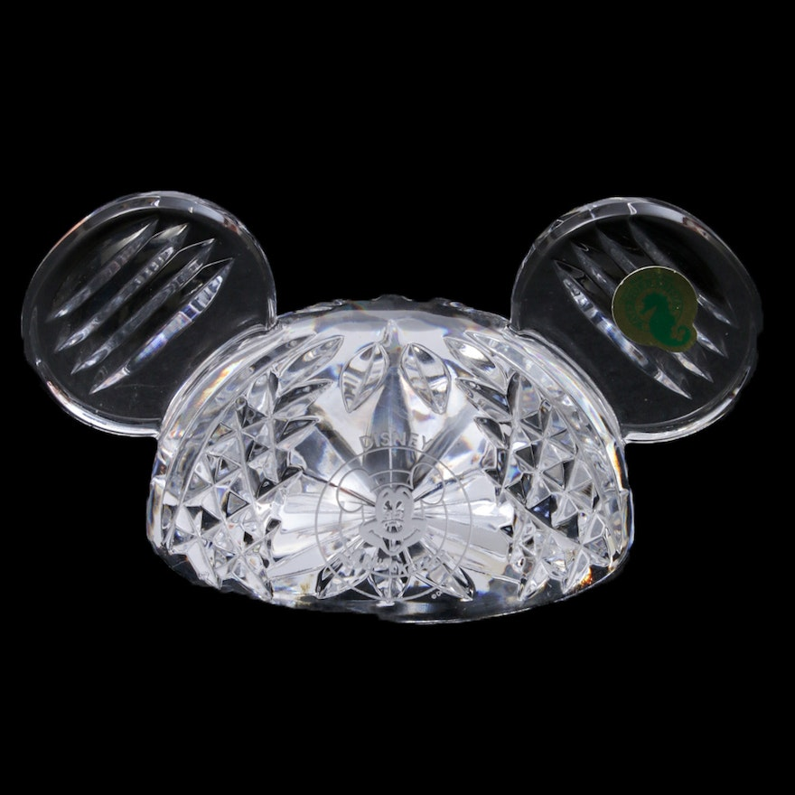 Waterford Crystal Disney Mickey Mouse Ears