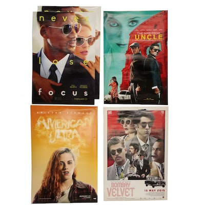 """""""Bombay Velvet"""" and Other Double Sided Movie Posters"""