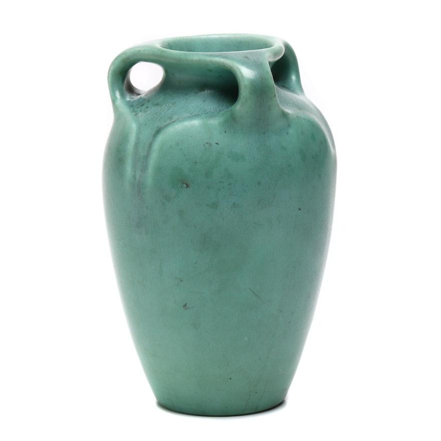 1935 Rookwood Green Matte Vase