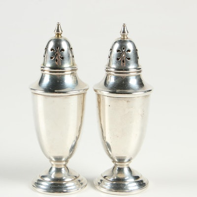 Towle Sterling Silver Salt and Pepper Shakers