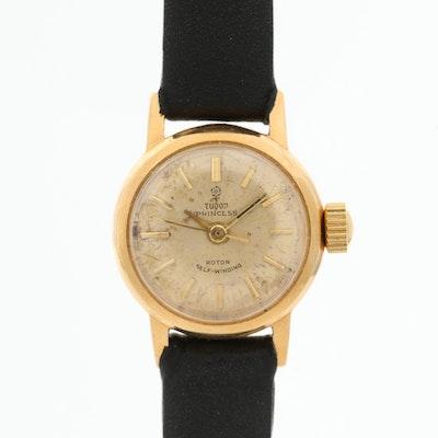 Vintage Tudor Princess 18K Gold Automatic Wristwatch