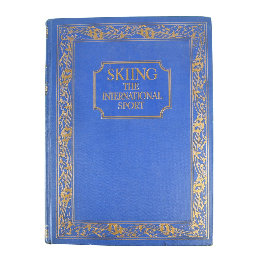 """1937 Limited Edition """"Skiing: The International Sport"""""""