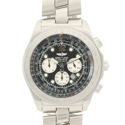 Breitling B-2 Stainless Steel Automatic Wristwatch