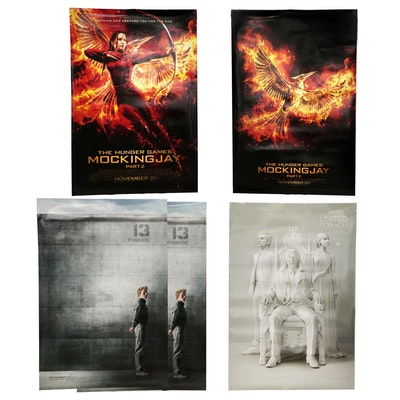 """The Hunger Games Mockingjay"" Double Sided Movie Posters"