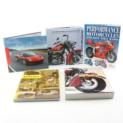 Coffee Table Books on Motorcycles and Automotives