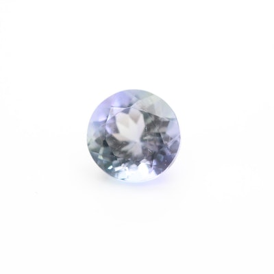 Loose 0.63 CT Tanzanite Gemstone