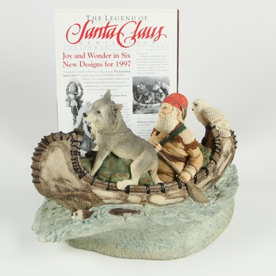 "The Legend of Santa Clause Limited Edition Figurine ""Wilderness Santa"""