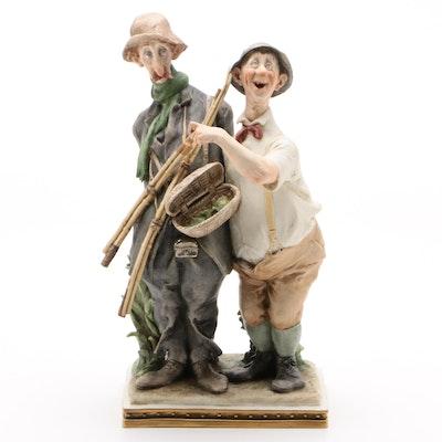 Giuseppe Cappe 1964 Limited Edition Italian Porcelain Figurine