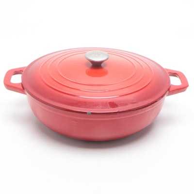 Cast Iron Dutch Oven, Mid to Late 20th Century
