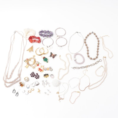 Costume Jewelry Collection Featuring Napier, Monet and 1928