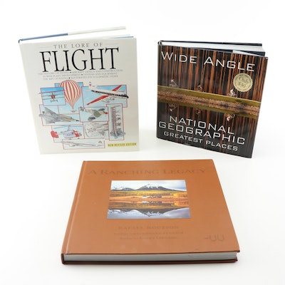 Hardcover Coffee Table Books Featuring Photography and Travel