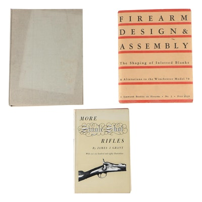 "Firearms Books featuring ""Firearm Design & Assembly"" Booklet by Alvin Linden"