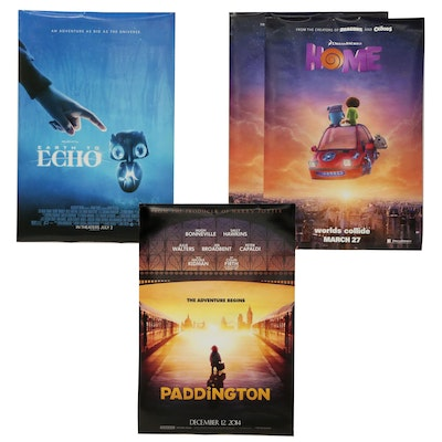 """""""Paddington"""" and Other Double Sided Movie Posters"""